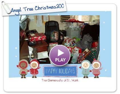 Click to play this Smilebox greeting: Angel Tree Christmas2009