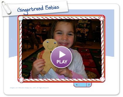 Click to play this Smilebox slideshow: Gingerbread Babies