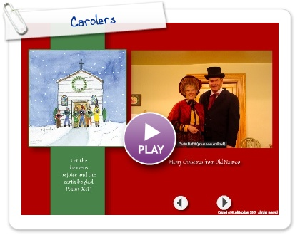 Click to play this Smilebox greeting: Carolers