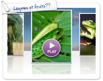 Click to play this Smilebox slideshow: Légumes et fruits??