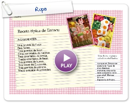 Click to play this Smilebox recipe: Rupa
