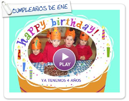 Click to play this Smilebox greeting: CUMPLEAÑOS DE ENERO