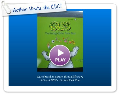 Click to play this Smilebox slideshow: Author Visits the CDC!