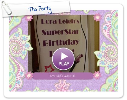 Click to play this Smilebox scrapbook: The Party