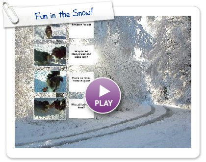 Click to play this Smilebox collage: Fun in the Snow!