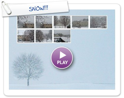 Click to play this Smilebox slideshow: SNOW!!!