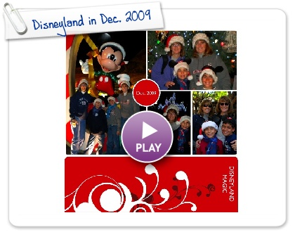 Click to play this Smilebox photobook: Disneyland in Dec. 2009