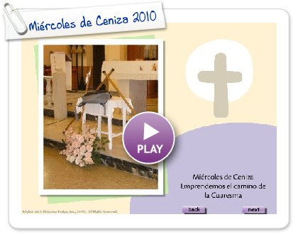 Click to play this Smilebox slideshow: Miércoles de Ceniza 2010