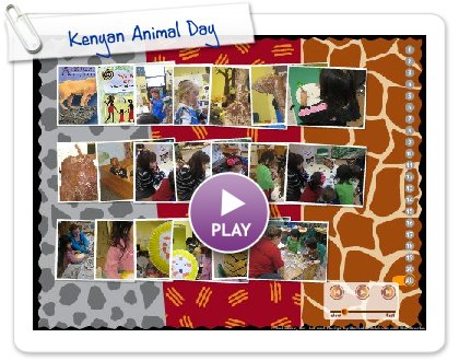 Click to play this Smilebox slideshow: Kenyan Animal Day