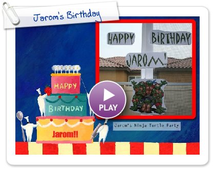 Click to play this Smilebox slideshow: Jarom's Birthday