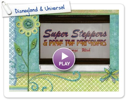 Click to play this Smilebox slideshow: Disneyland & Universal