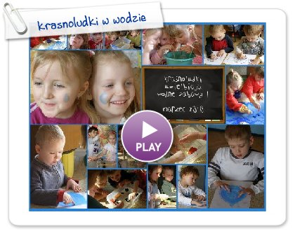 Click to play this Smilebox collage: krasnoludki w wodzie