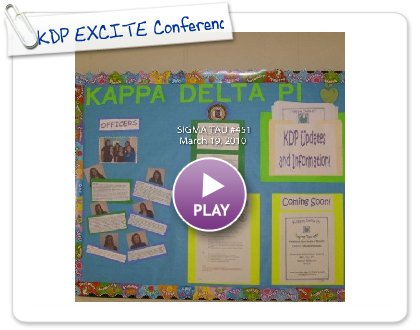 Click to play this Smilebox photobook: KDP EXCITE Conference
