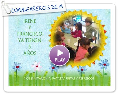 Click to play this Smilebox greeting: CUMPLEAÑEROS DE MARZO