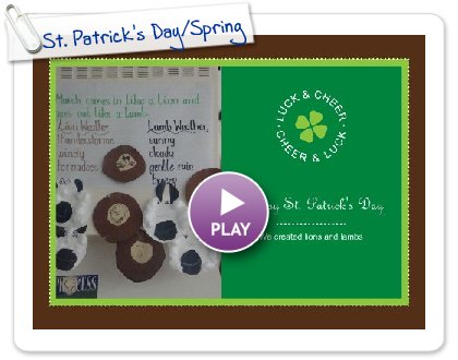Click to play this Smilebox greeting: St. Patrick's Day/Spring