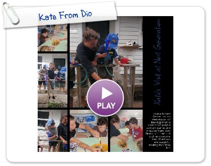 Click to play this Smilebox collage: Kate From Dio