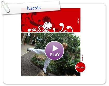 Click to play this Smilebox photobook: Karate