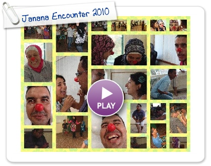 Clown Me In with Palestinian and Lebanese communities - Janana Encounter