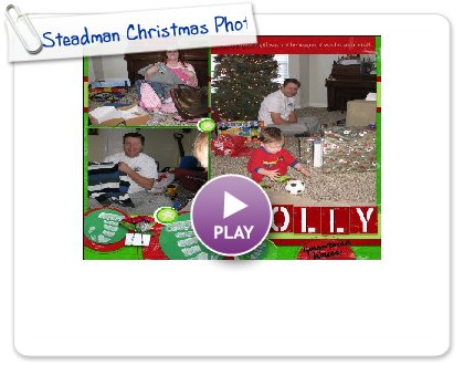 Click to play Steadman Christmas Photo's