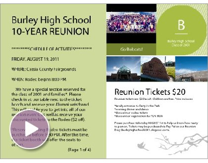 Family Reunion Newsletter Template Pictures to Pin – Class Reunion Invitations Templates