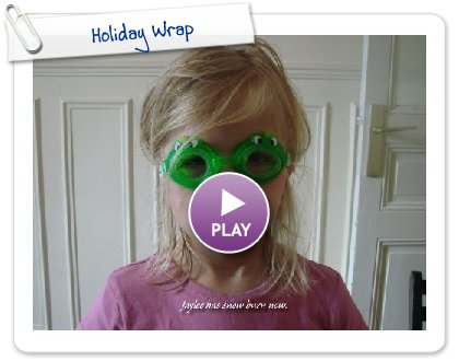 Click to play Holiday Wrap