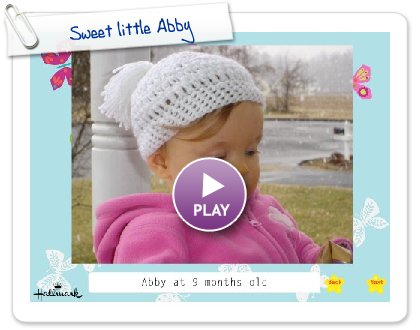 Click to play Sweet little Abby