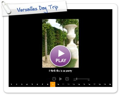 Click to play Versailles Day Trip