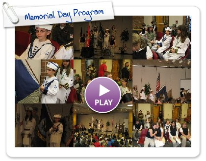 Click to play Memorial Day Program