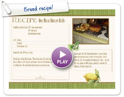 Click to play Bread recipe!