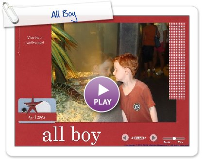 Click to play All Boy