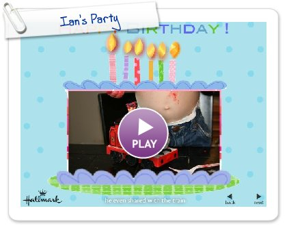 Click to play Ian's Party