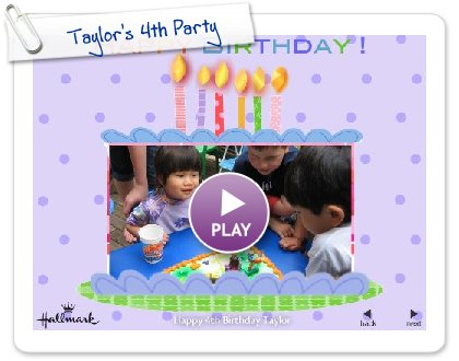 Click to play Taylor's 4th Party