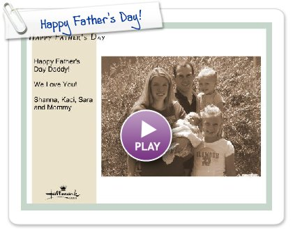 Click to play Happy Father's Day!