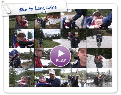 Click to play Hike to Long Lake