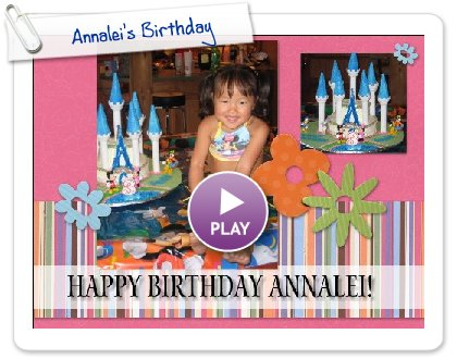 Click to play Annalei's Birthday