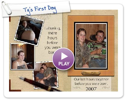 Click to play Ty's First Day