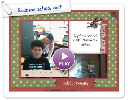Click to play Reubens school visit