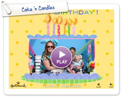 Click to play Cake 'n Candles