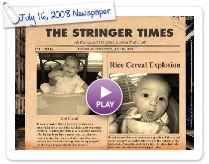 Click to play July 16, 2008 Newspaper