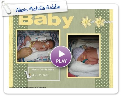 Click to play Alexis Michelle Riddle