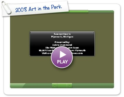 Click to play 2008 Art in the Park