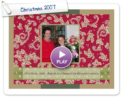 Click to play Christmas 2007