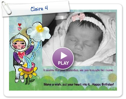 Click to play Claire 4