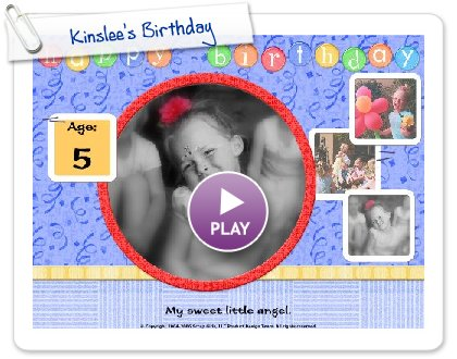 Click to play Kinslee's Birthday