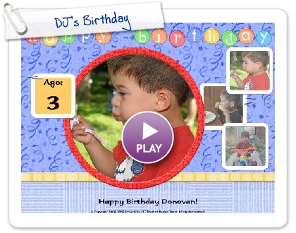 Click to play DJ's Birthday