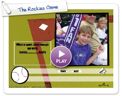 Click to play The Rockies Game