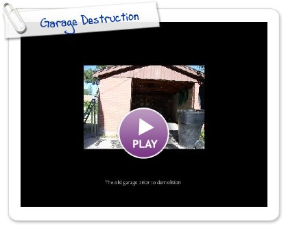 Click to play Garage Destruction