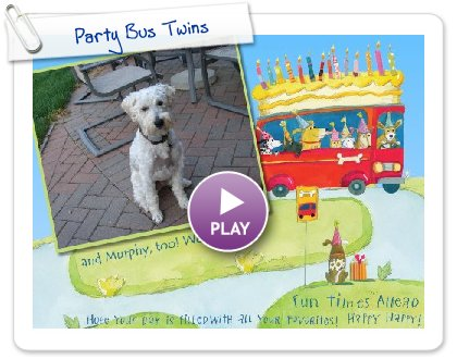 Click to play Party Bus Twins