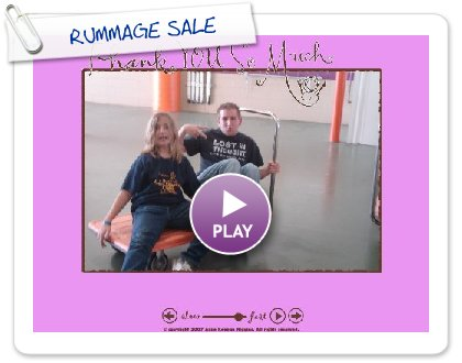 Click to play RUMMAGE SALE