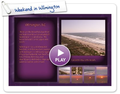 Click to play Weekend in Wilmington